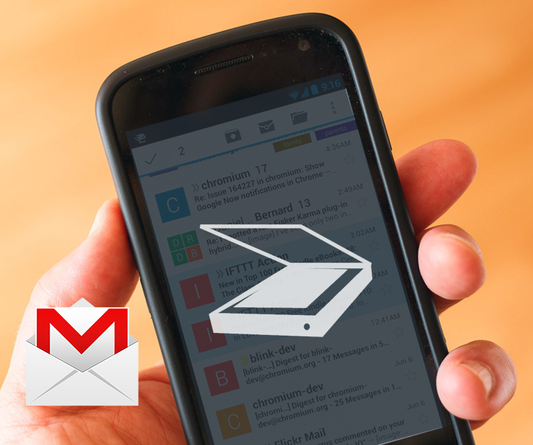 New Feature OCR for Gmail