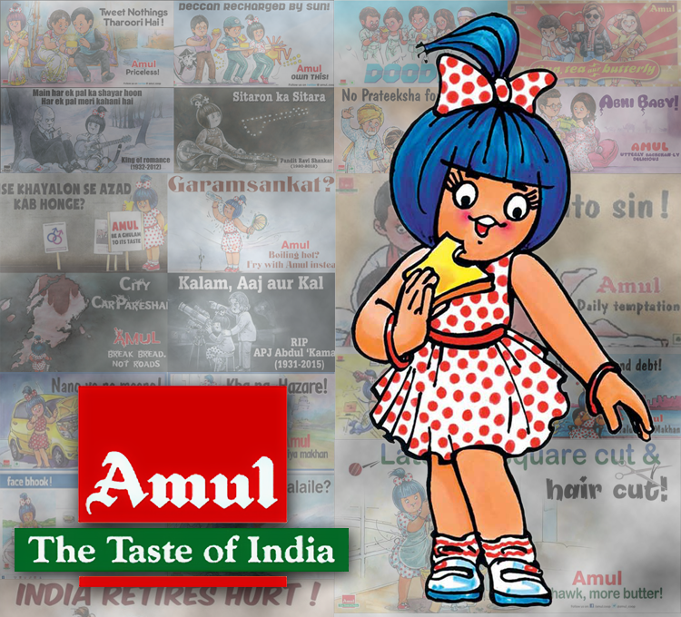 Amul Girl