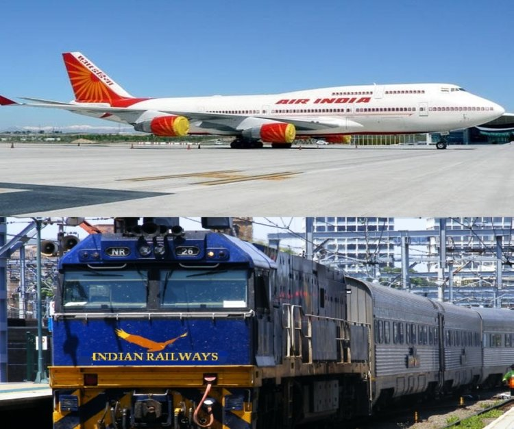 Indian Railway to Air India