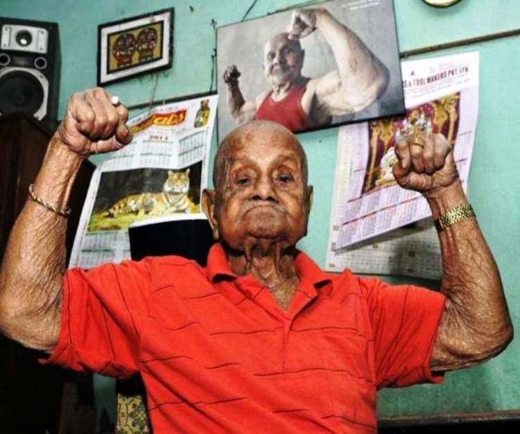 Mr. Universe Manohar Aich