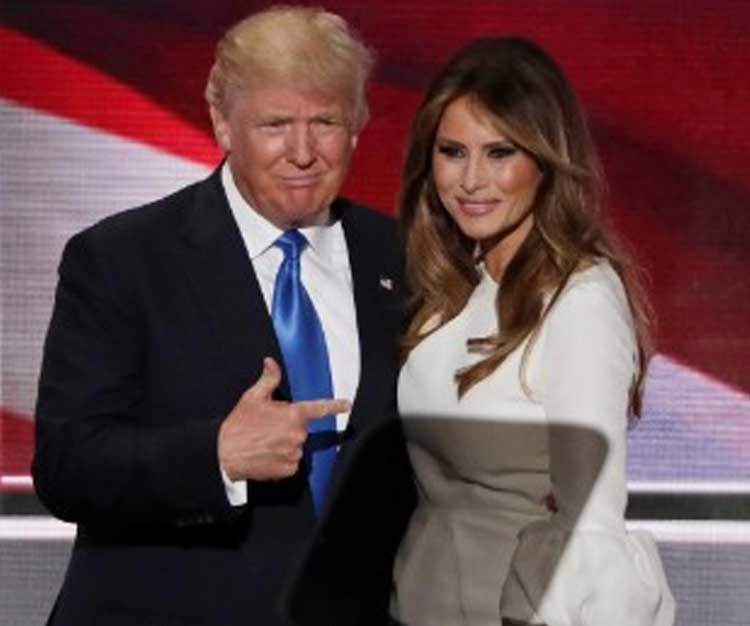 Melenia Trump Criticized For Plagiarizing Mobama's Speech!