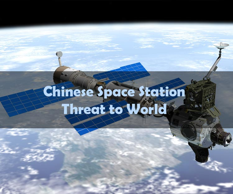 Chinese Space Station A Threat To Earth