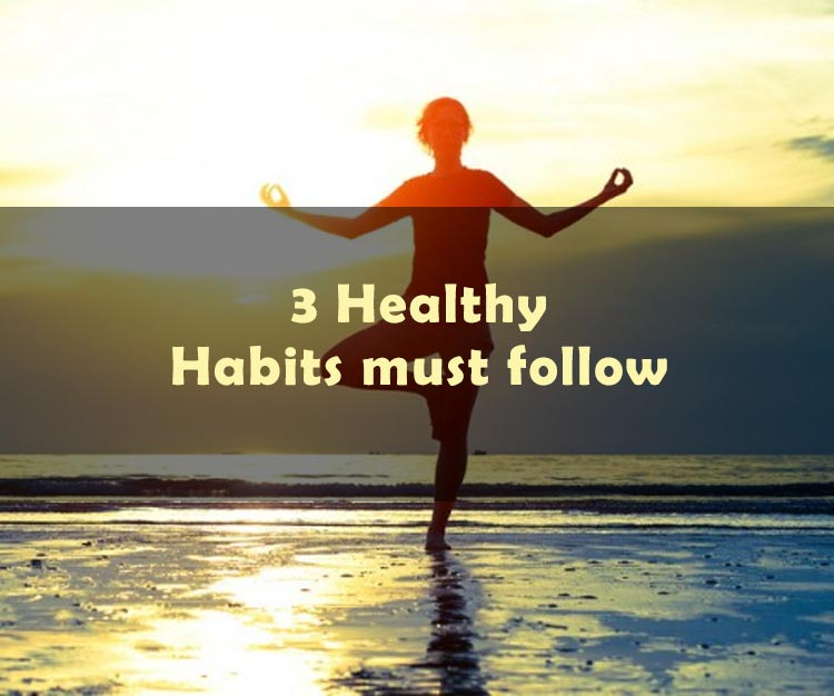 3 Healthy Habits You Must Follow