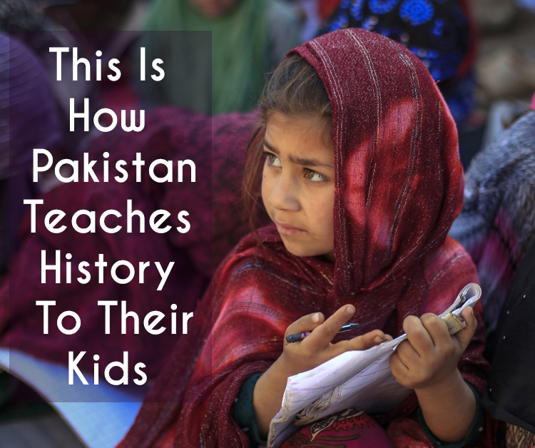 This Is How Pakistan Teaches History To Their Kids