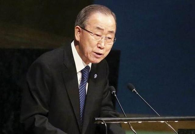 UN Chief Ban Ki-Moon Condemns Uri Terror Attack