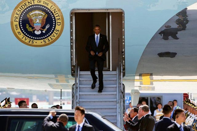 No red Carpet Treatment for Obama In China at G20 Summit