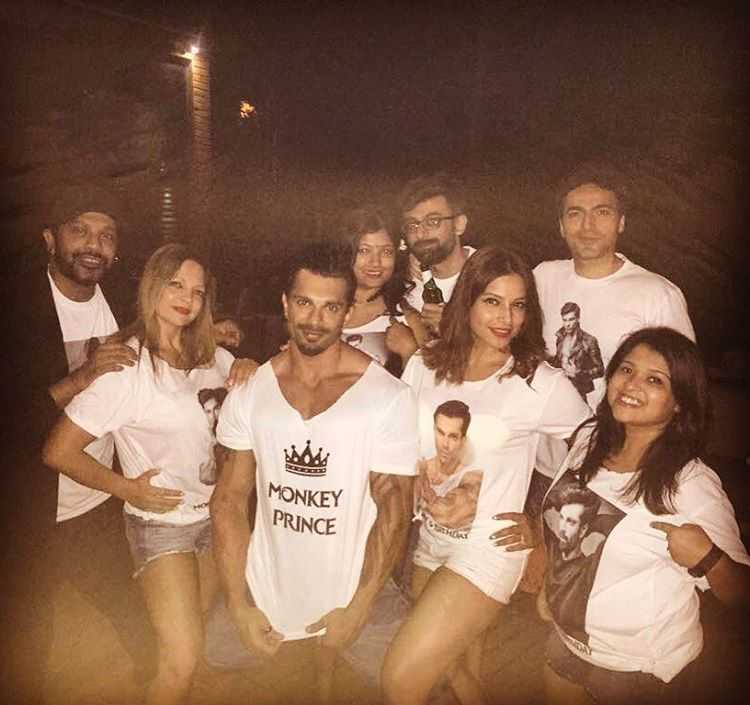 Surprise! Bipasha makes hubby 'Monkey Prince' on his birthday in Goa
