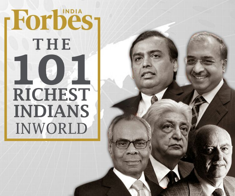101 Indians On Forbes List Of Richest People In The World