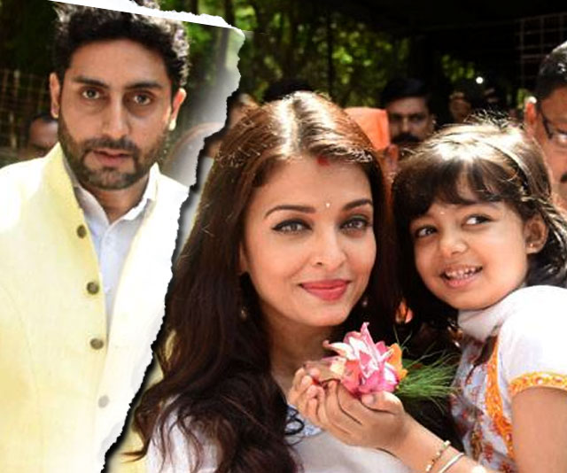 Abhishek-Aishwarya's difference of opinion out in the open