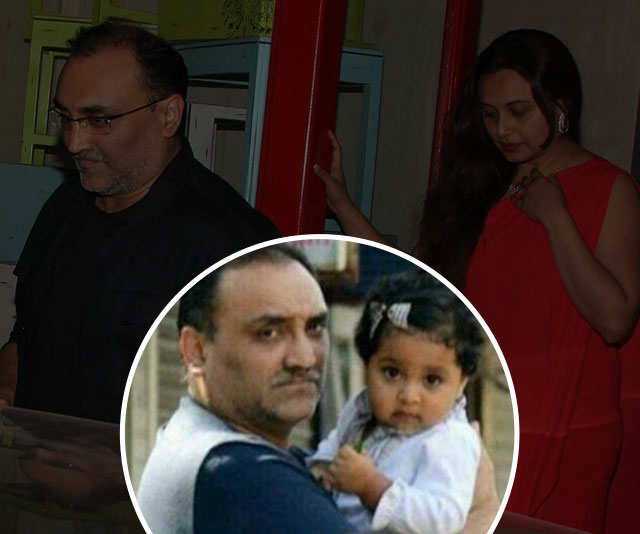Aditya Chopra poses for camera with daughter Adira for the first time