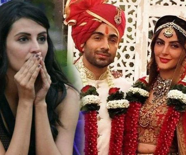 Bigg Boss 9 contestant Mandana Karimi takes vows in a dream wedding