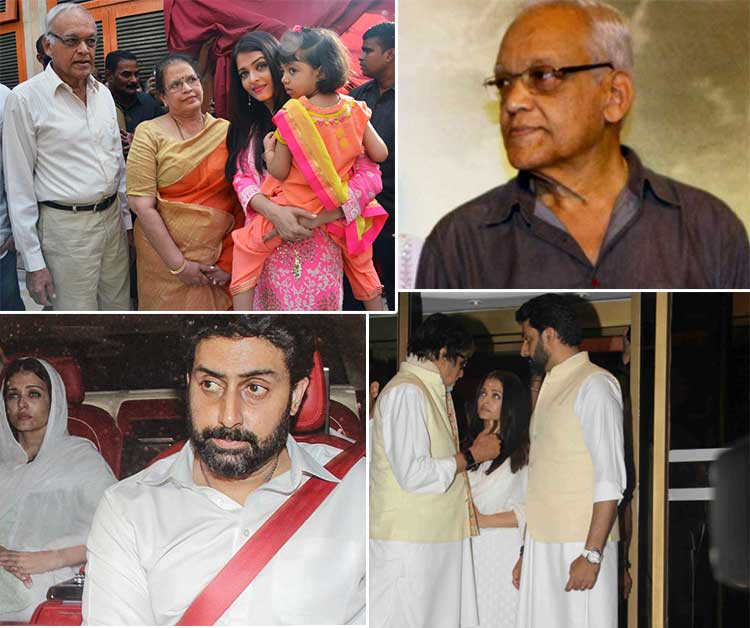 Bollywood Attends Prayer Meet Of Aishwarya Rai's Father