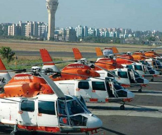 India's first heliport becomes functional in Delhi