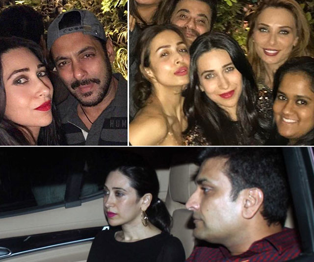Karisma Kapoor attends Seema Khan's birthday bash with rumoured beau Sandeep Toshniwal