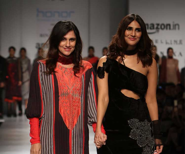 Vaani Kapoor turns showstopper in black ensemble at Rhina Dhaka's show