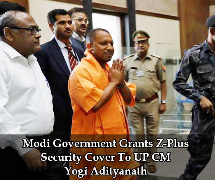 Modi Government Grants Z-Plus Security Cover To UP CM Yogi Adityanath