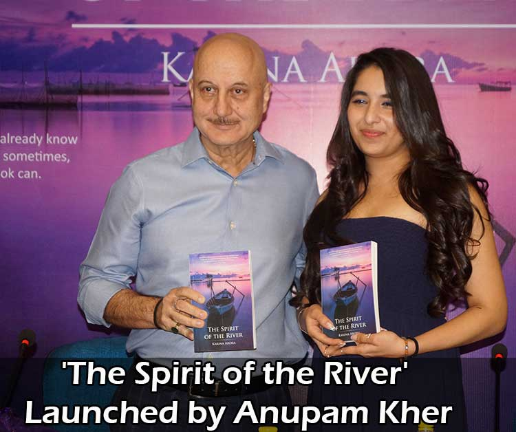 Summary of book 'The Spirit of the River' launched by Anupam Kher
