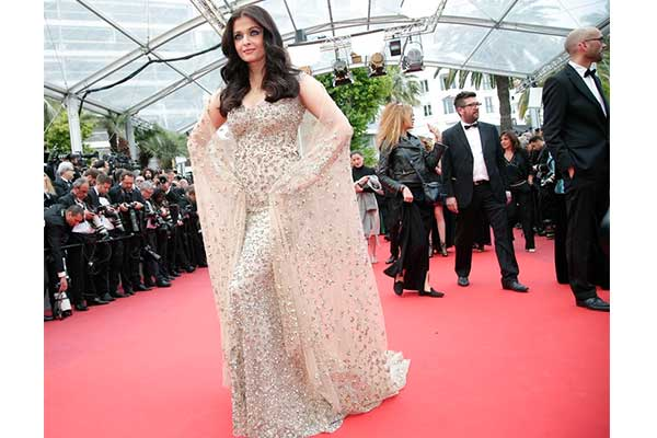 Aishwarya Rai's stunning looks at Cannes Film Festival