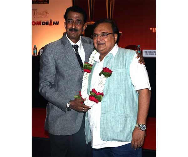 Abhishek Bachchan & Rakesh Bedi