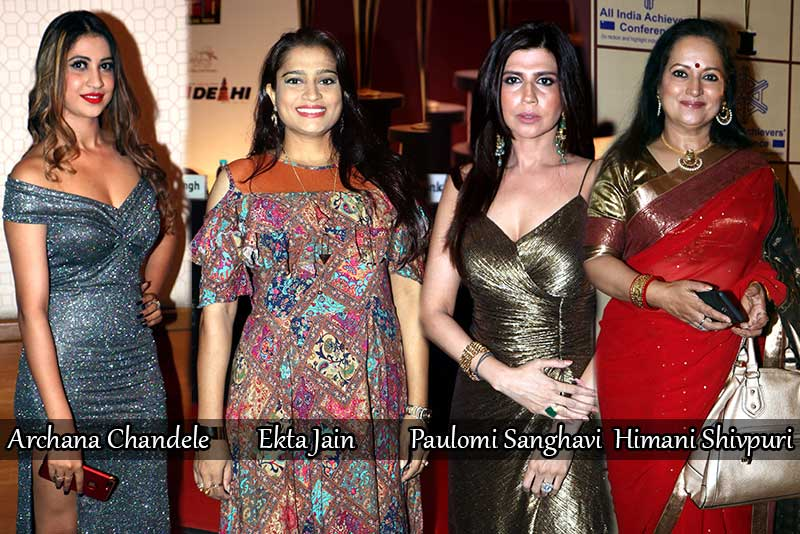 Celebrities Grace The Red Carpet At Golden Achiever Awards