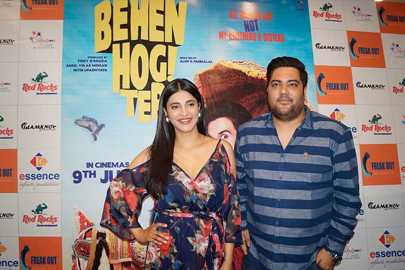 "Shruti Haasan Promoted Her Controversial Film ""Behen Hogi Teri"""