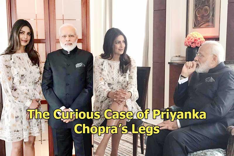 The Curious Case Of Priyanka Chopra's Legs