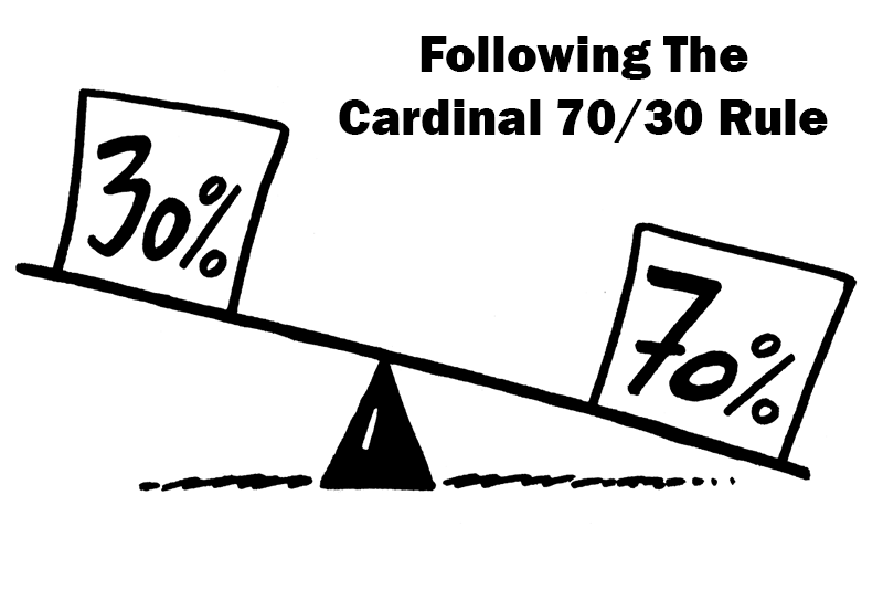 Following The Cardinal 7030 Rule