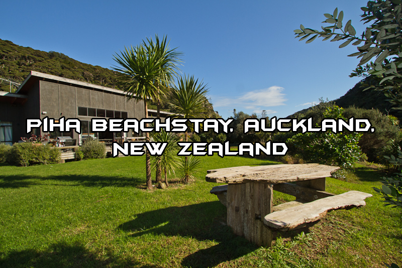 Piha Beachstay, Auckland, New Zealand