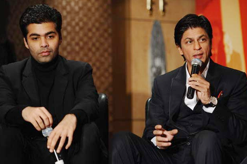 Karan Johar and Sharukh Khan