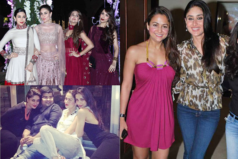 Kareena Kapoor and Amrita Arora