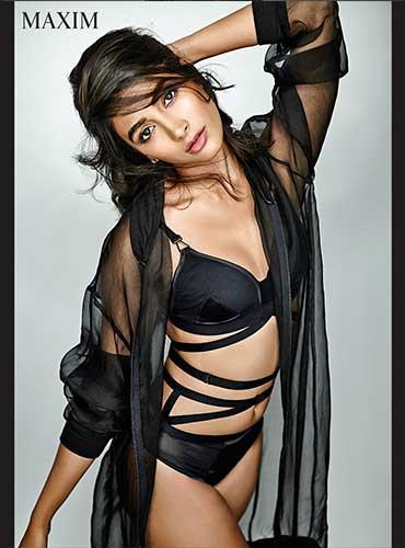 Pooja Hegde Bares Her Sexy