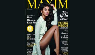 Pooja Hegde Bares Her Beautiful, Long Legs On The Cover Of Maxim India