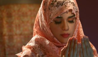 Eisha Singh, Adnan Khan with cast of serial Ishq Subhan Allah shot Bakra Eid promo.