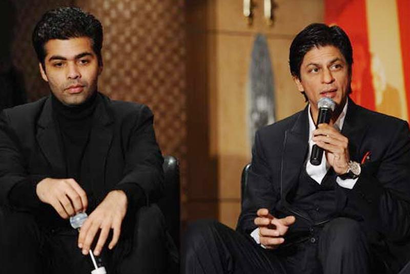 Karan Johar and Sharukh Khan