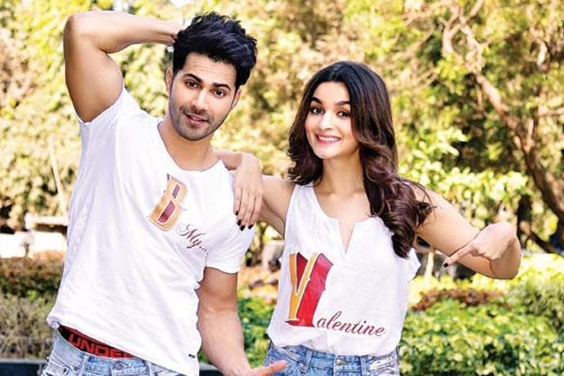 Varun Dhawan and Alia Bhatt