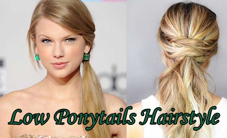 Low-Ponytails-Hairstyle